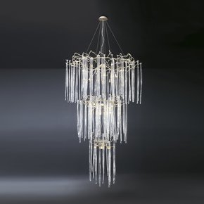 Waterfall Suspension Lamp Clear Glass - Serip - Treniq