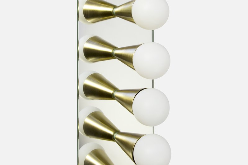 Echo 6 sconce souda brass 7
