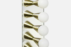 Echo 9 Sconce - Brass