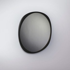 Fade Mirror - Black Frame - Smoke Mirror