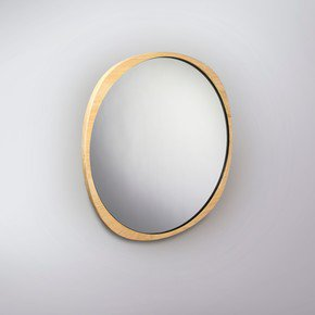 Fade Mirror - Natural Ash Frame - Clear Mirror