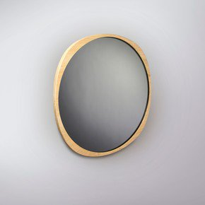 Fade Mirror - Natural Ash Frame - Smoke Mirror