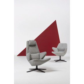 Trifidae Armchair Grey