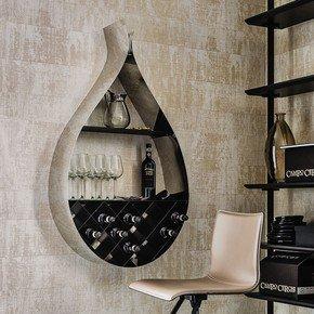 Drop Bookcase / Wine Rack