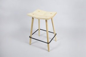 Mitre Counter Stool - Natural