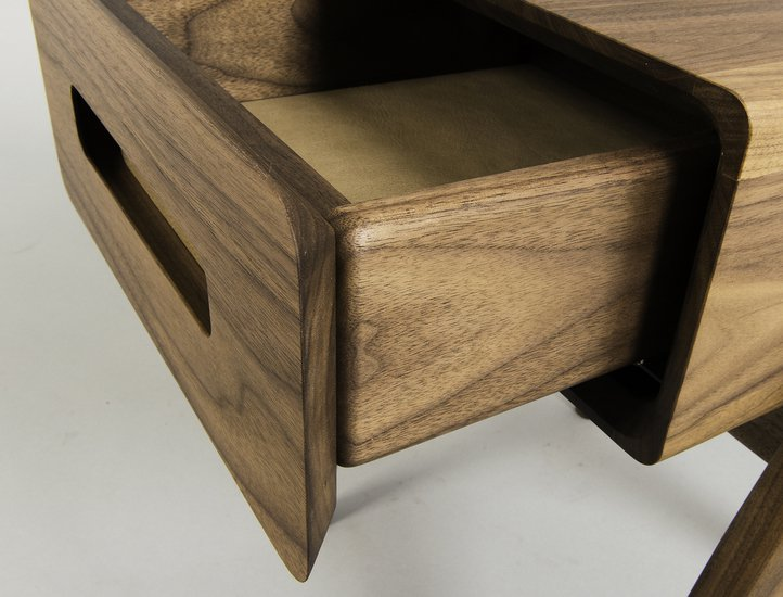 Retrospect side table with leather lined drawer (bedside table)  alan flannery treniq 1 1547516609358