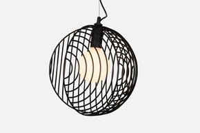 Dana Pendant Light - Black - 3 Cluster