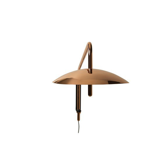 3 copper signal modern swing arm sconce