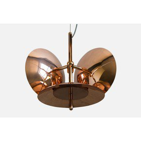 Signal Chandelier 3 - White  Copper