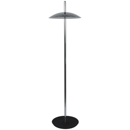 Signal floor lamp   nickel