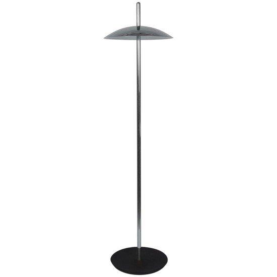 Signal floor lamp   nickel