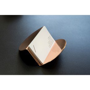 Wave Business Card Holder - Copper