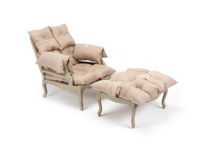 The-Cushion-Fight-Vintage-French-Armchair-&-Footstool-Reduced-To-Clear-_Rhubarb-Chairs_Treniq_0