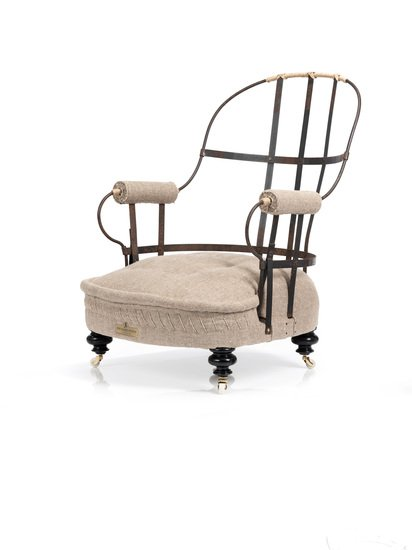 The eclectic victorian iron back chair. rhubarbchairs treniq 1 1547648000662