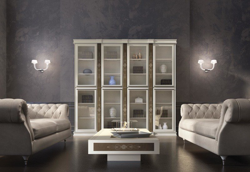 Base bookcase vismara design treniq 1