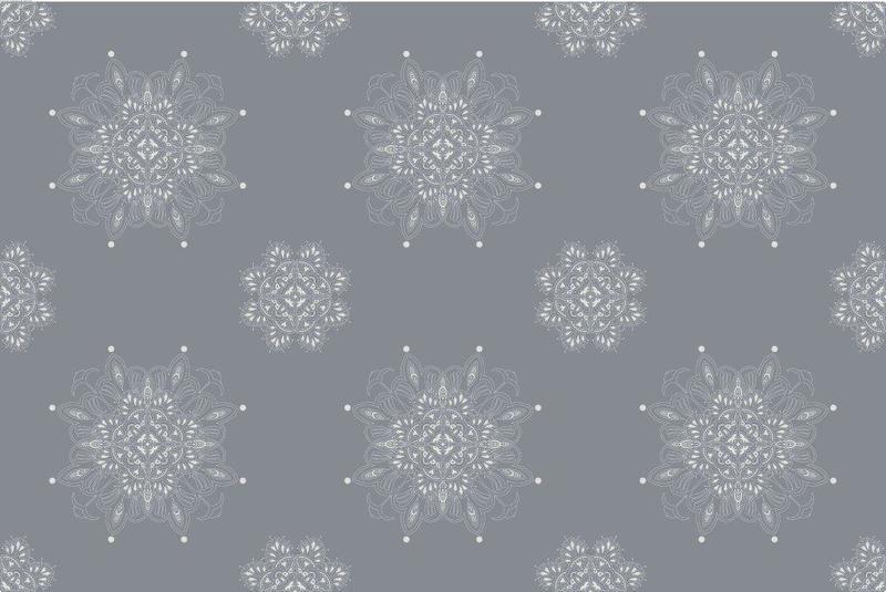 Venezia metallic silver on grey wallpaper  ailanto design by amanda ferragamo treniq 1 1548042594343