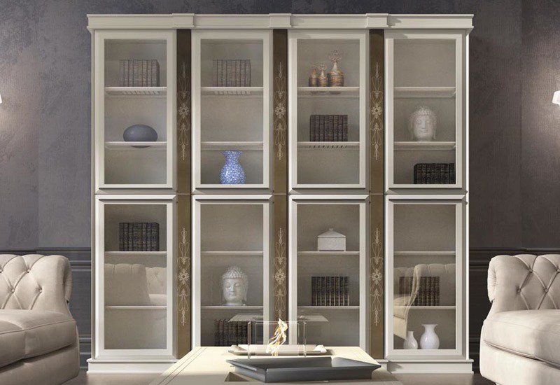 Base bookcase vismara design treniq 2