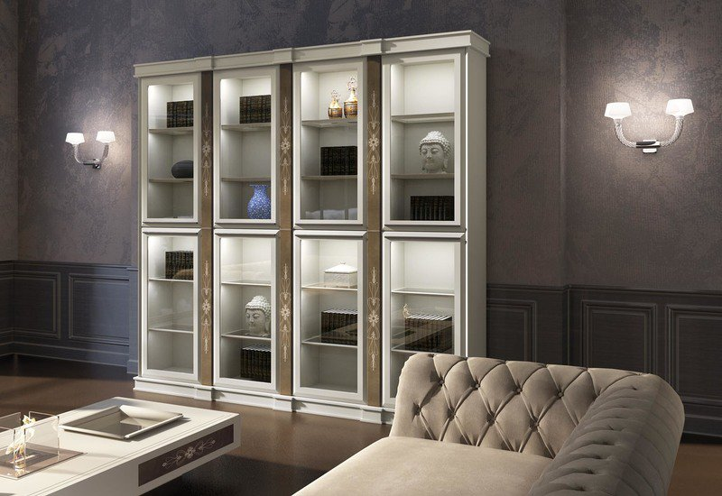 Base bookcase vismara design treniq 3