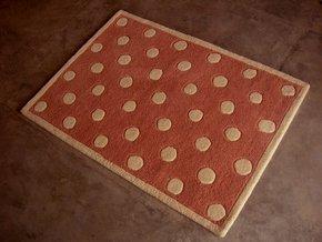 Husaini's Hand Tuffed Brown Carpets