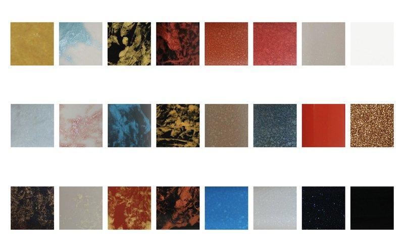 Colour palette without tags