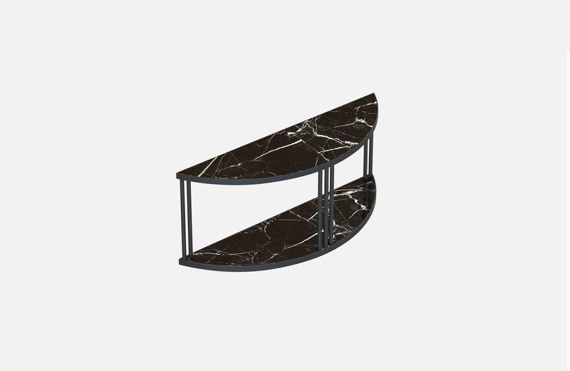 Roma sideboard black with black marble miist treniq 1 1549267277374
