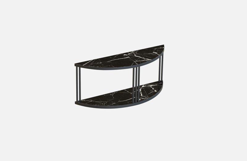 Roma sideboard black with black marble miist treniq 1 1549267277372