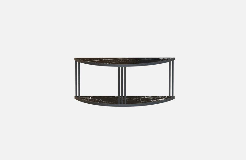 Roma sideboard black with black marble miist treniq 1 1549267277375
