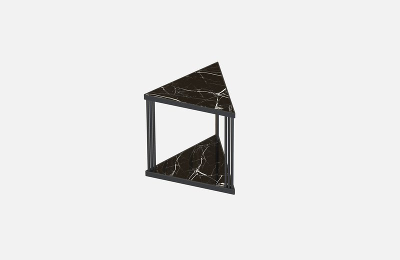Trecento coffee table black with black marble miist treniq 1 1549268439443