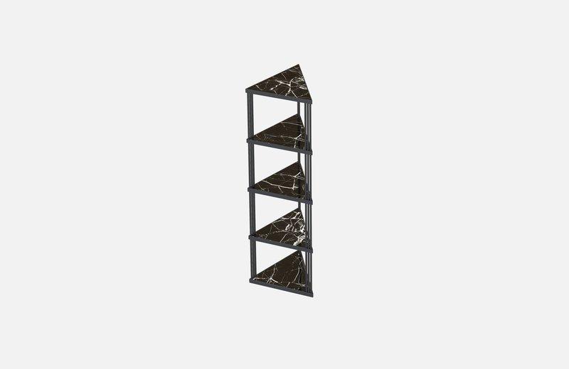 Trecento bookcase black with black marlbe miist treniq 1 1549269381928