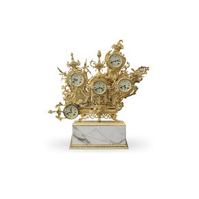 Grandfather-Table-Clock-(Gold-Plated-Calacatta-Gold)_Bessa_Treniq_0