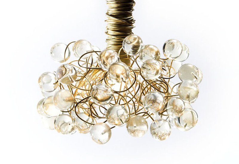 Gold and bold pendant lamp aya and john treniq 2