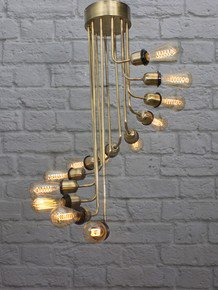 Spiral Stairs Chandelier