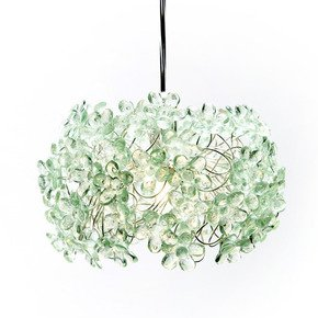 Green and Serene Pendant Lamp - Aya and John - Treniq