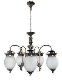 Chandni Crackle Chandelier