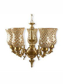 Baja Golden Royal Chandelier