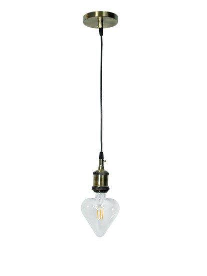 Filament heart led e27 9