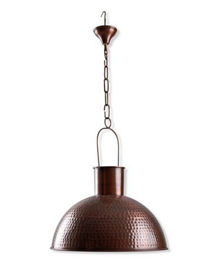 Hammer copper pendant light sv  1