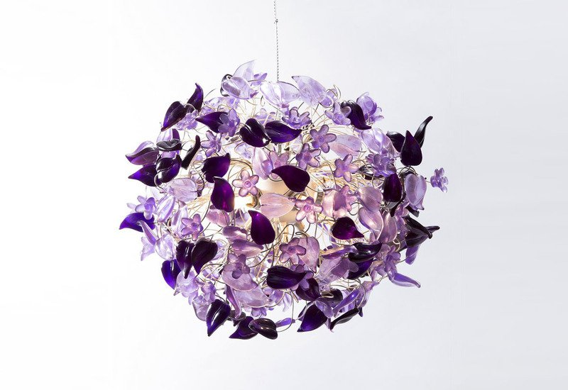 Purple haze pendant lamp aya and john treniq 1