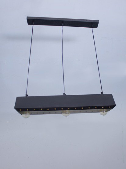 Metal rivit blk rectangle hl3 5