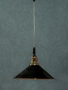 Factory Grey Hanging Pendant Light