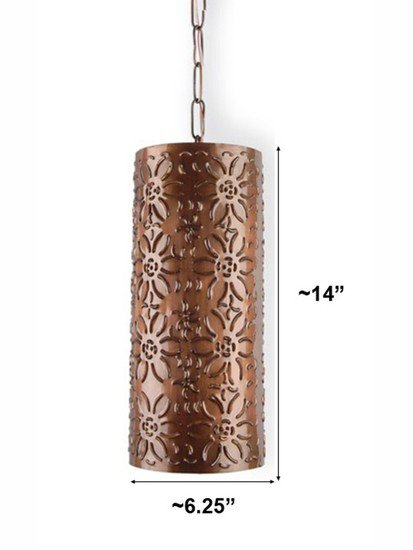 Flower cutting hanging light 1