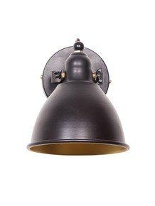 Fos Lighting Retro Black Spot Light