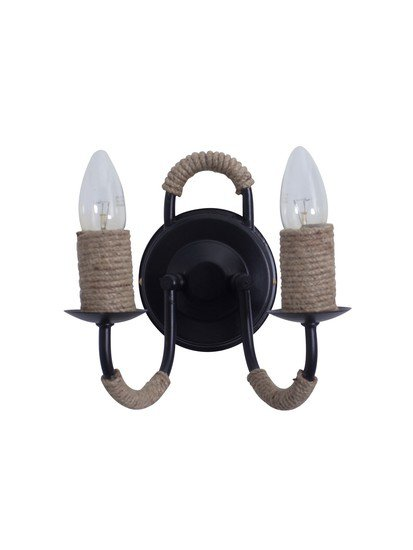 Uarm blk rope candle wl2 8