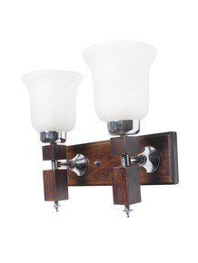 Martin Crown Wood Doublewall Light