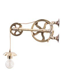 Barn Pulley Wall Light