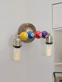 Snooker Double Wall Sconce