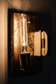 Retro Kit Kat Fuse Industrial Wall Sconce
