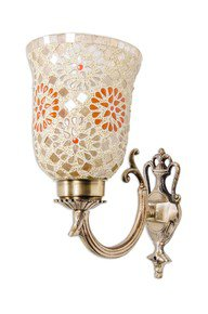 Small Tilak Single U Arm Wall Light