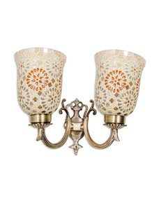 Small Tilak Double U Arm Wall Light