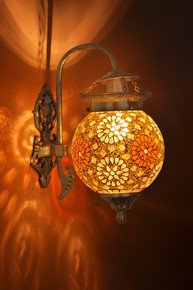 Tilak Golden Globe Wall Sconce